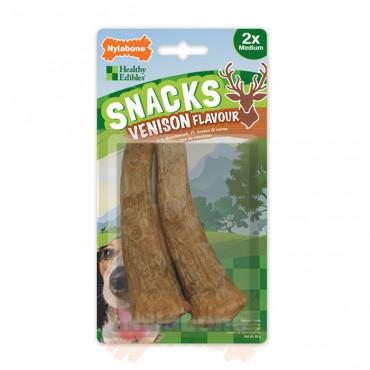 Snacks p/ Cão c/ Sabor a Veado (2uni.)