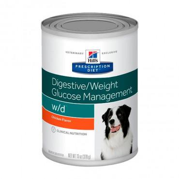 w/d Canine - DiabetesMellitus/Excesso de Peso 370gr