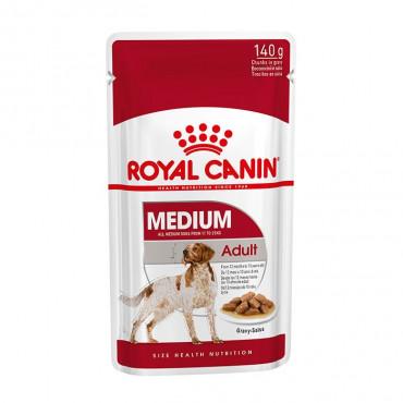 Ração para cão Royal Canin Medium Adulto Húmida