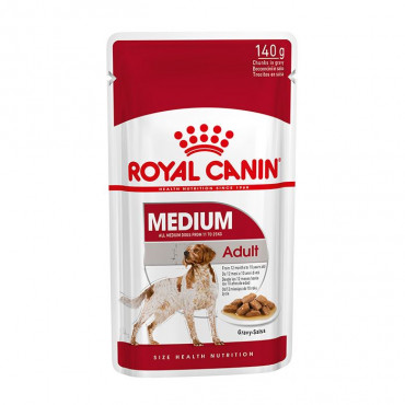Royal Canin Medium Adulto em molho