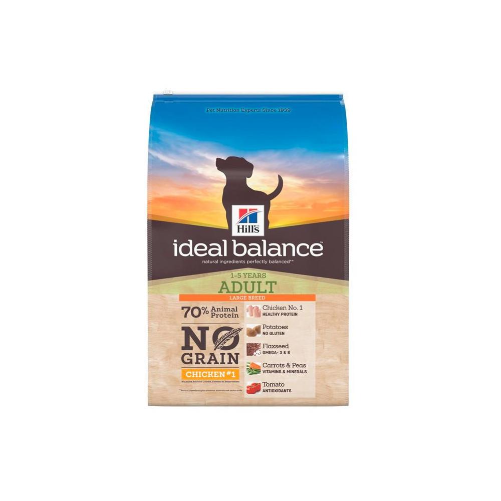 Hill's Ideal Balance Adult Large Breed NO GRAIN Frango e Batata