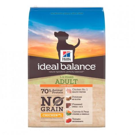 Hill's Ideal Balance Sem cereais Cão Large Breed - Frango e Batata