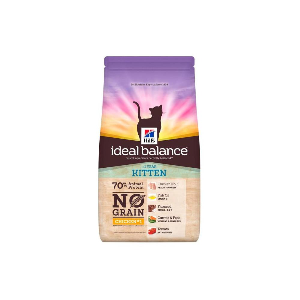 Hill's Ideal Balance Kitten NO GRAIN Frango e Batata 1.5kg