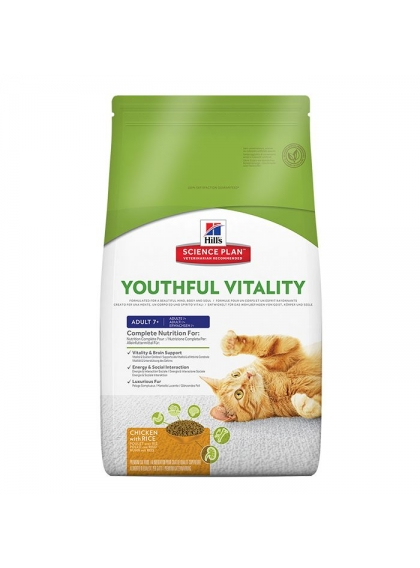 Hill's Feline - Adult +7 Youthful Vitality 1.5kg
