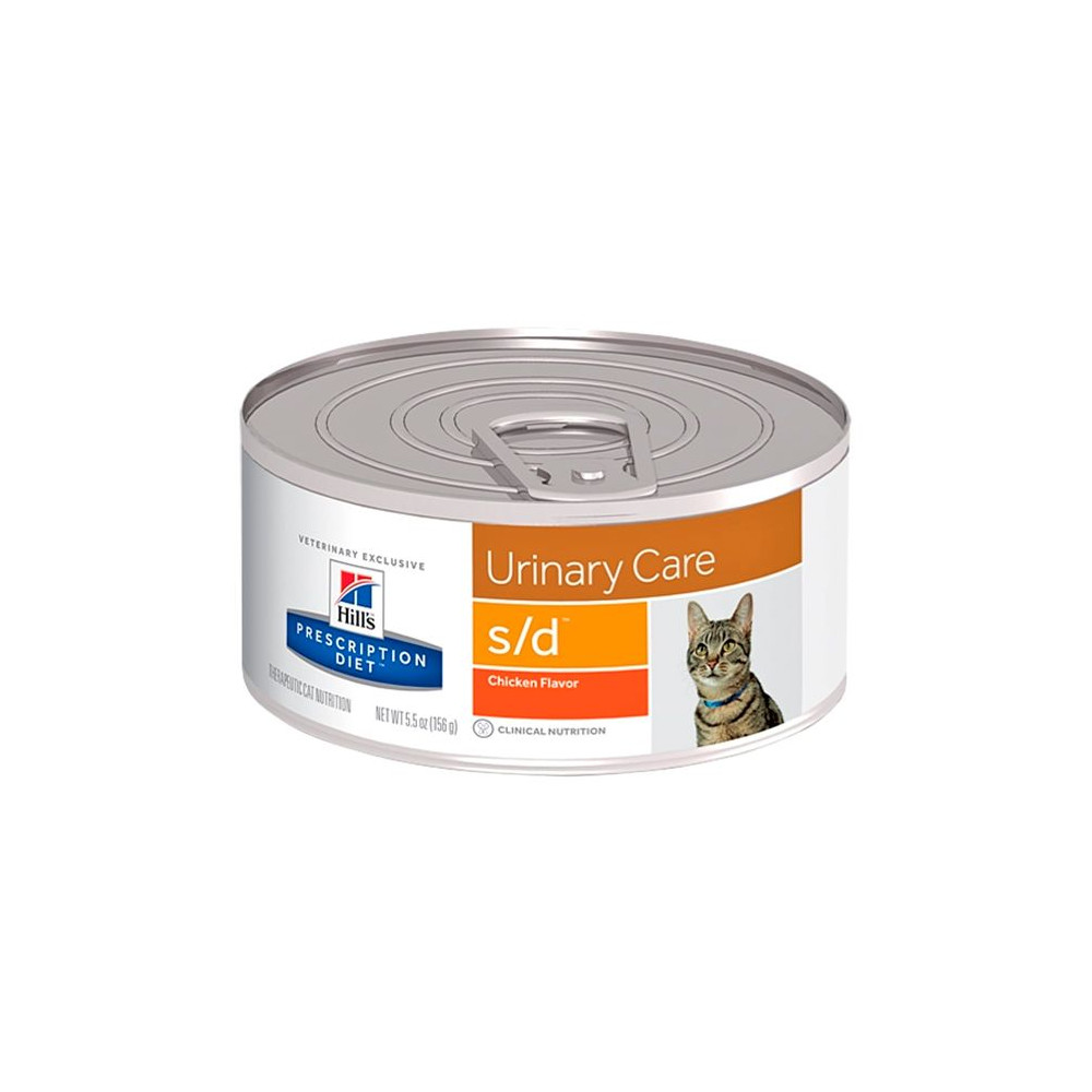 s/d Feline - Cálculos Urinários 156gr