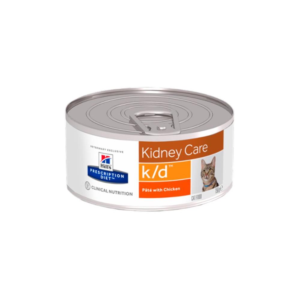 k/d Feline - Doença Renal/Problemas Cardíacos 156gr