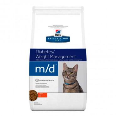 m/d Feline - Feline Diabetes Mellitus/Excesso de Peso 1.5Kg