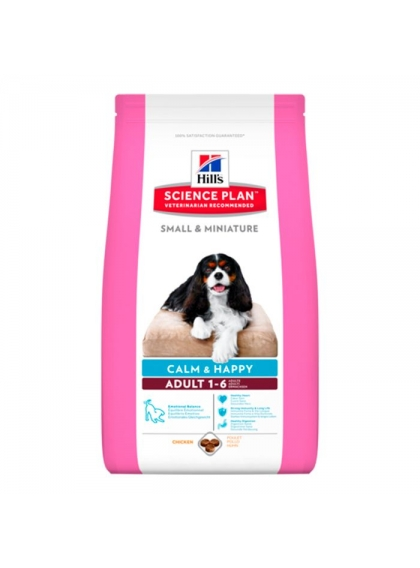 Hill's Adult Small&Miniature Calm and Happy 1.5kg
