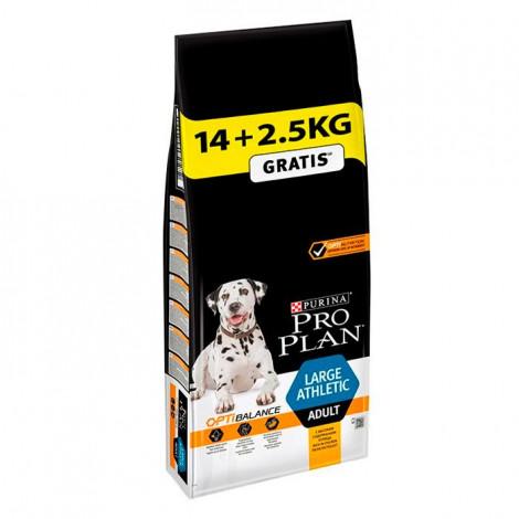 Pro Plan Optibalance Cão Large Athletic - Frango - 14 kg + 2,5 kg OFERTA