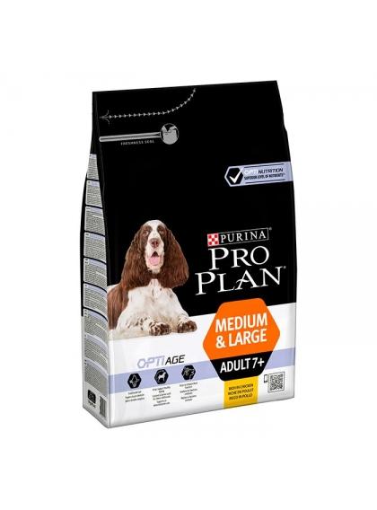 Pro Plan Optiage Cão Adulto 7+ Medium & Large