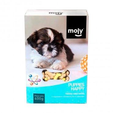 Moly - Biscoitos Puppy Happy 400gr