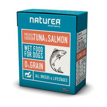 Naturea Wet - Atum e Salmão 375gr