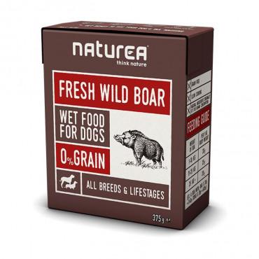 Naturea Wet - WildBoar 375gr
