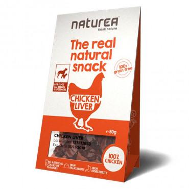 Naturea Snacks Dog - Chicken Liver 80gr
