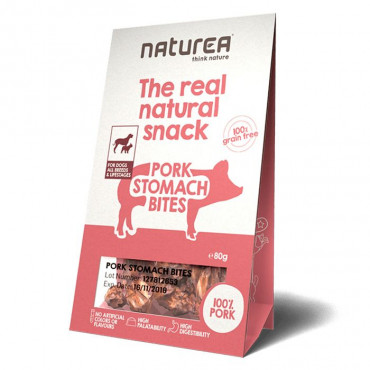 Naturea Snacks Dog - Pork Stomach Bites 80gr