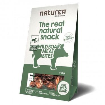Naturea Snacks Dog -Wildboar Meat Bites 80gr