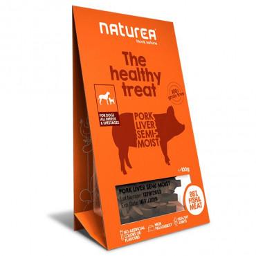 Naturea Treats Dog - Pork Liver 100gr