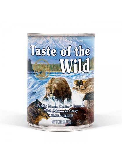 Taste of the Wild -Ração Húmida Pacific Stream Salmão