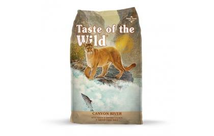 Taste of the Wild Canyon River Gato Adulto Truta e Salmão