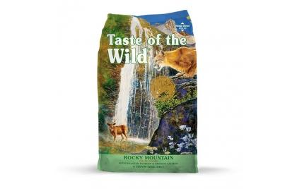 Taste of the Wild Rocky Mountain Gato Adulto Veado e Salmão