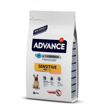 Advance Sensitive Cão Mini - Salmão