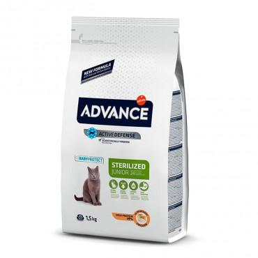 Advance Gato Sterilised Junior - Frango
