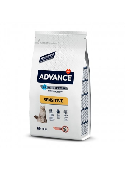 Advance Sensitive Gato Adulto Salmão