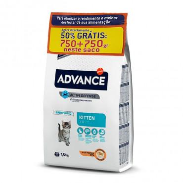 Advance Gato Kitten - Frango | 750 + 750 gr GRÁTIS