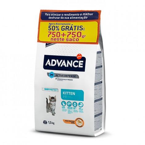 Advance Cat - Kitten 750gr + 750gr Grátis