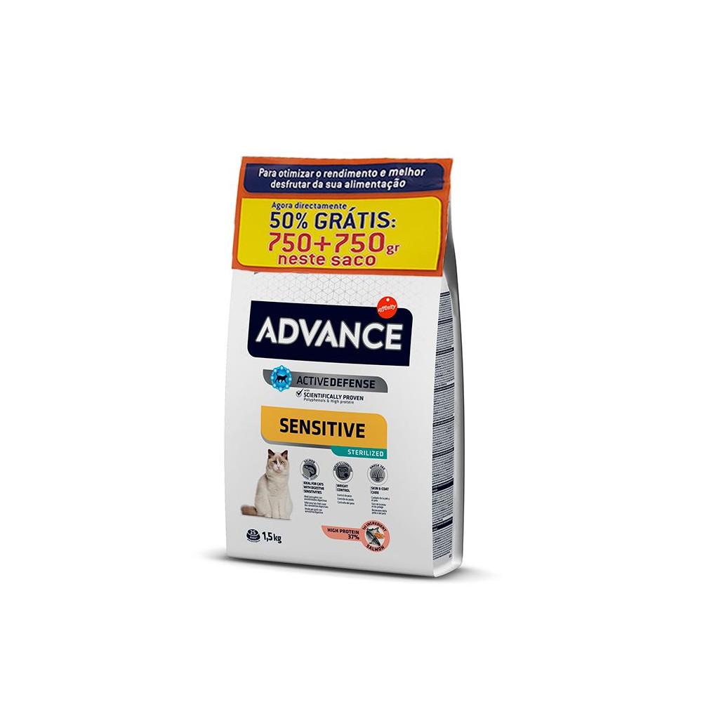Advance - Sterilized Salmão 750gr + 750gr OFERTA