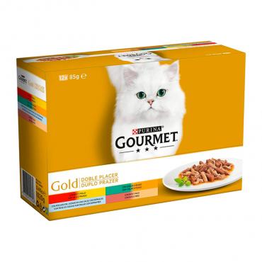 GOURMET GOLD - Duplo Prazer 12x85gr