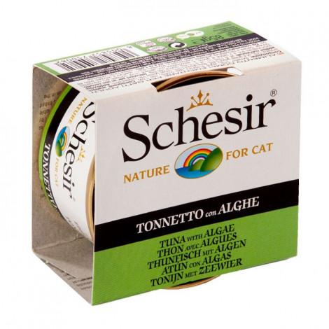 Schesir Gato - Atum e Algas 85gr