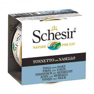 Schesir Gato - Atum e Pescada 85gr