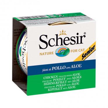 Schesir Gato Senior - Frango e Aloe 85gr