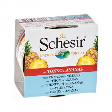 Schesir Gato - Atum e Ananás 75gr