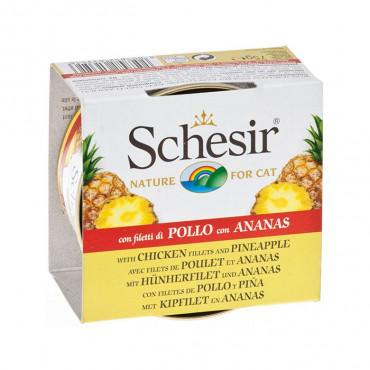 Schesir Gato Frango e ananás