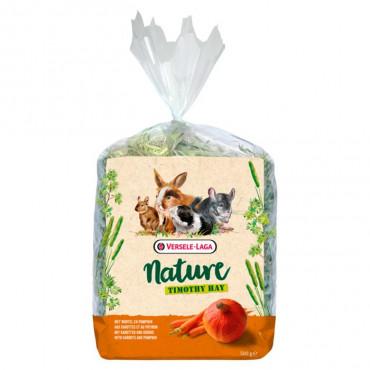 NATURE - Timothy Hay Cenoura e Abóbora 500gr