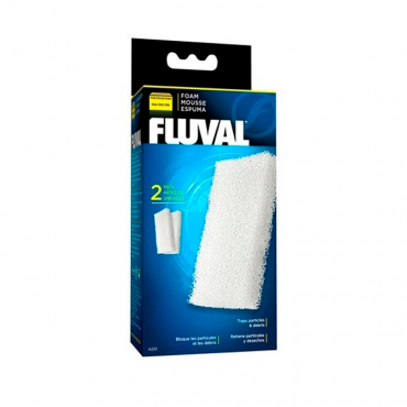 Fluval Recarga - Esponja p/Filtro Fluval 206/306