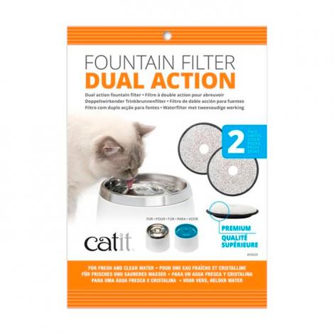 Catit - Filtro para Bebedouro Automático em Aço Inox