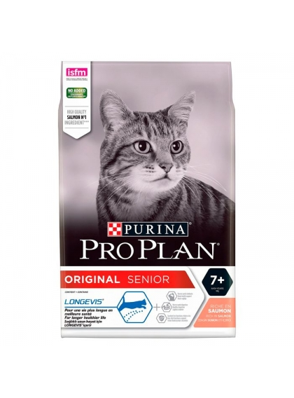 Pro Plan Cat Original Senior Longevis Salmão 3kg