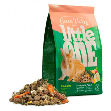 """Little One - Alimento """"Green Valley"""" p/ Coelhos"""