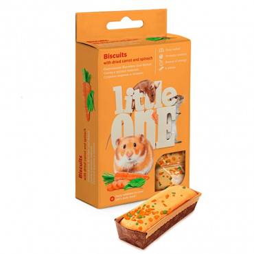 Little One - Biscuits c/ Cenoura e Espinafre