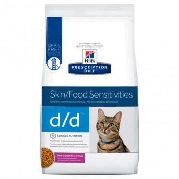 d/d Feline - Problemas Gastrointestinais/Pele Pato 1.5kg