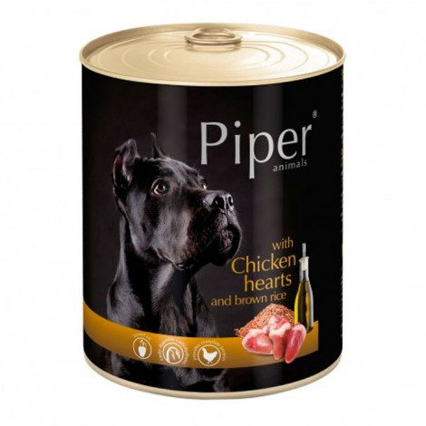 Piper Cão Galinha e coração