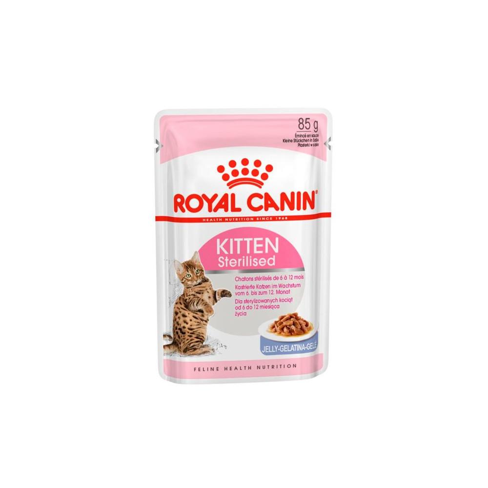 Ração para gato Royal Canin Wet Kitten Sterilised Jelly