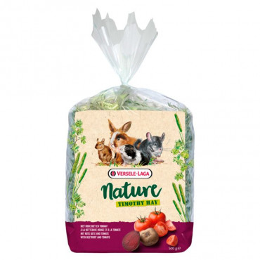 NATURE - Timothy Hay Beterraba e Tomate 500gr