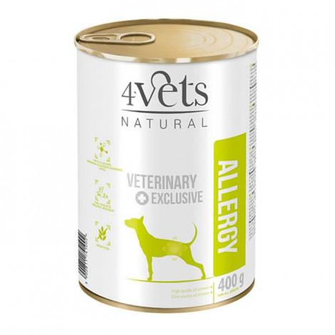 4Vets - Veterinary Diet Allergy 3 Latas + 1 Lata OFERTA