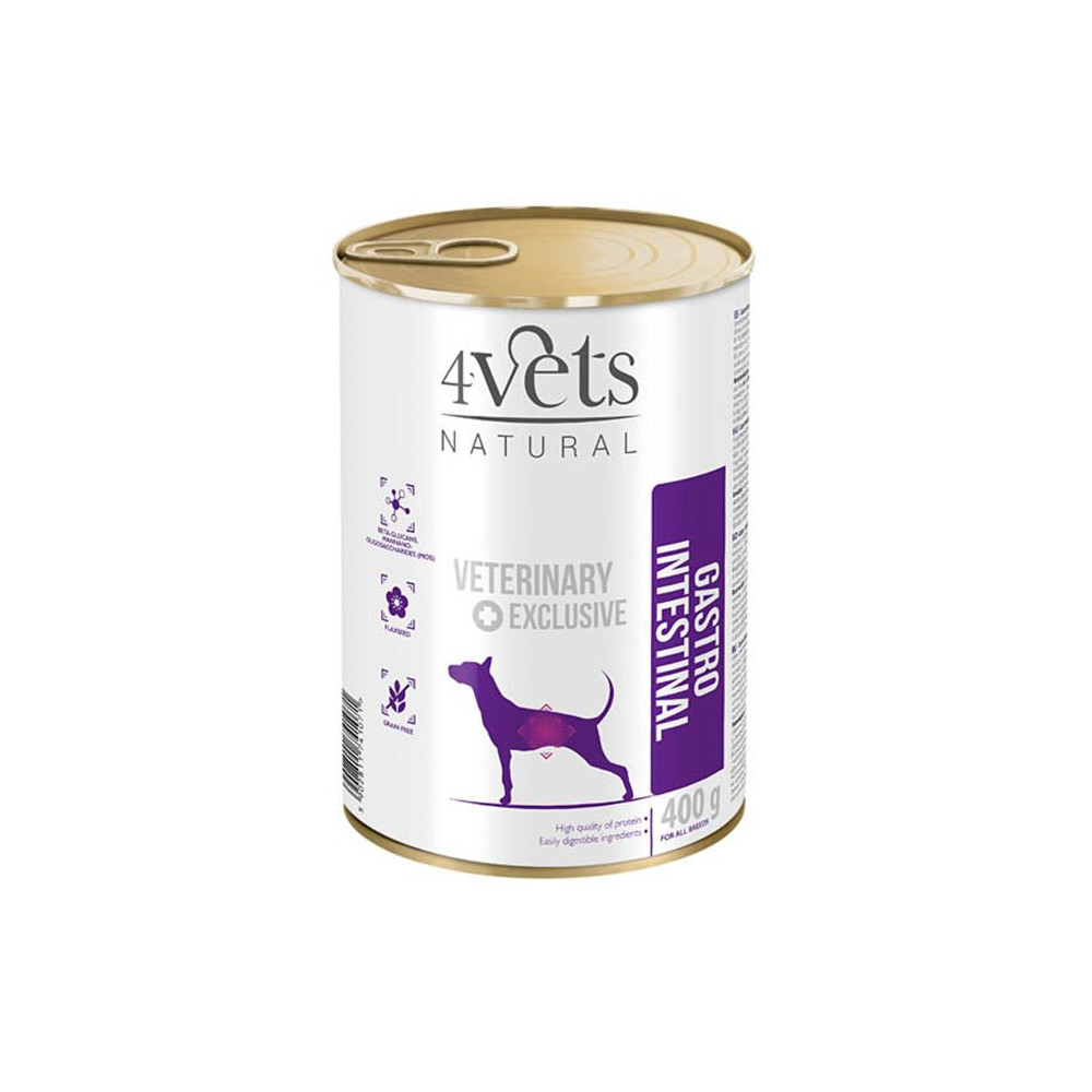 4Vets - Veterinary Diet Gastro Intestinal 400gr