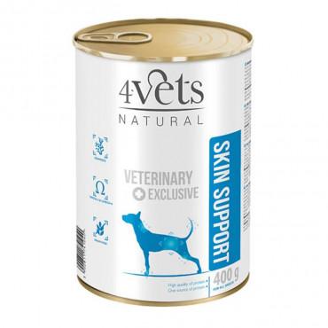 4Vets - Veterinary Diet Skin Support 400gr