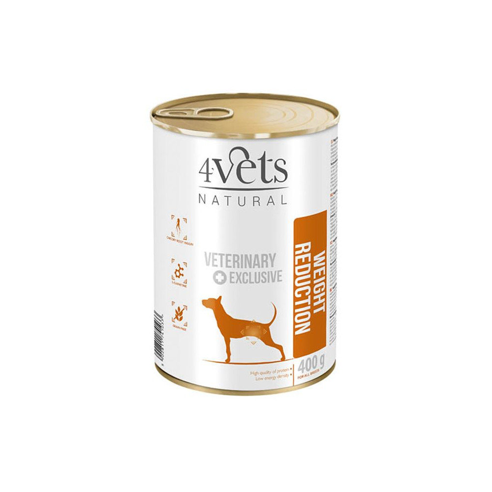 4Vets - Veterinary Diet Weight Reduction 400gr
